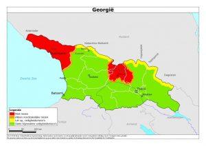 Het advies van MinBuZa en van de Georgiërs is duidelijk: Reis niet naar dit zichzelf onafhankelijk verklaarde land, want er is geen diplomatieke vertegenwoordiging (BuZa) en het is er lé-vens-gevaarlijk (de Georgiërs). Sinds de oorlog van 92-93 is Abchazië de facto onafhankelijk van Georgië; 'Russische invloed' is een understatement.